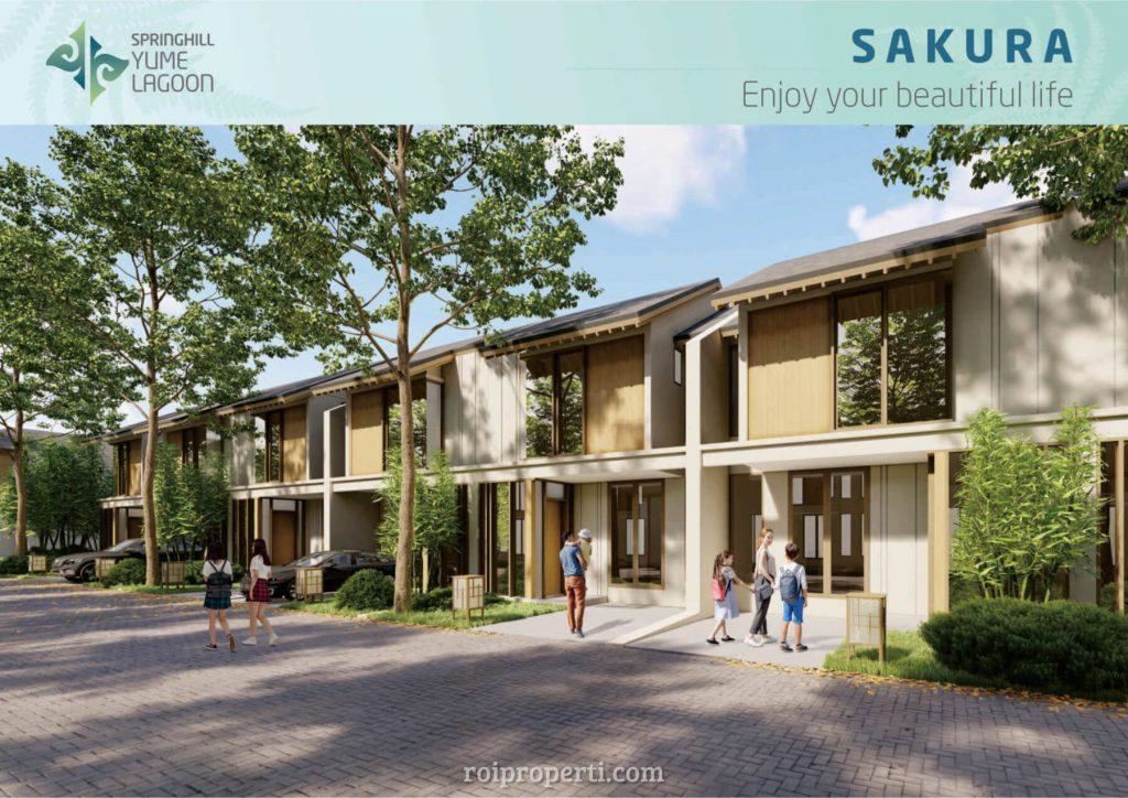 Rumah Springhill Yume Lagoon Tipe Sakura