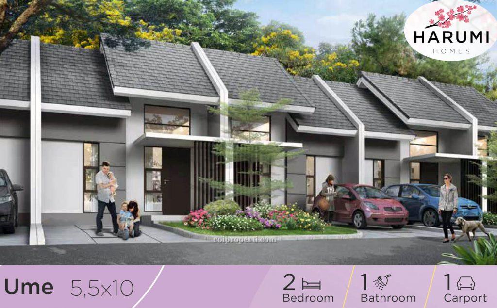 Rumah Harumi Homes Summarecon Emerald Karawang Tipe Ume
