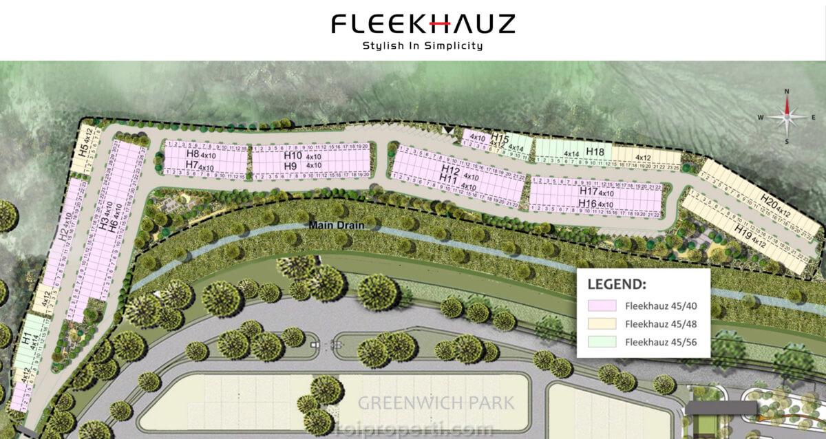 Siteplan FleekHauz BSD